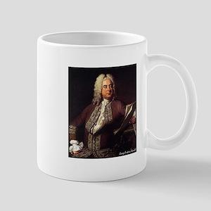 "Faces""Handel"" Mug"