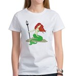 Mermaid with Red Hair Women's T-Shirt