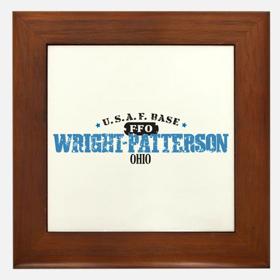 Wright Patterson Air Force Framed Tile