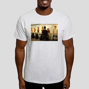 Funny Bathroom Scene Light T-Shirt