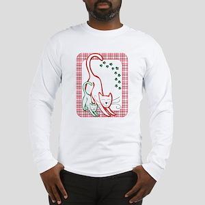 Christmas Cats Long Sleeve T-Shirt