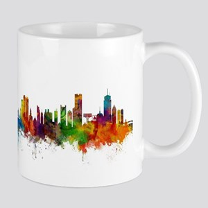 Boston Massachusetts Skyline Mugs