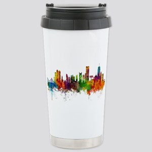 Boston Massachusetts Skyline Mugs