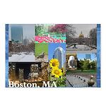 Boston, MA Photo Collage by Celeste Sheffey Postca