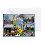 Boston, MA Photo Greeting Card