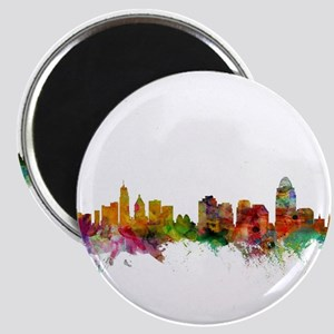 Cincinnati Ohio Skyline Magnets