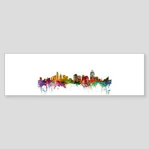 Cincinnati Ohio Skyline Bumper Sticker