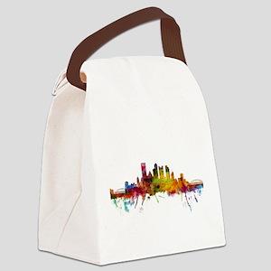 Pittsburgh Pennsylvania Skyline Canvas Lunch Bag