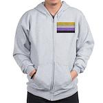 Non-Binary Denim Flag Sweatshirt