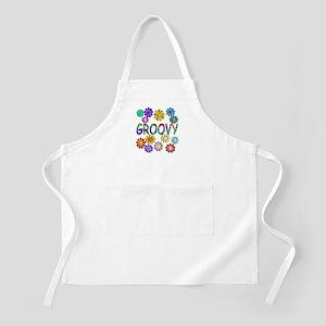 Groovy BBQ Apron