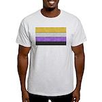 Non-Binary Denim Flag T-Shirt