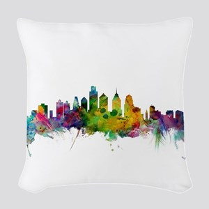 Philadelphia Pennsylvania Skyl Woven Throw Pillow