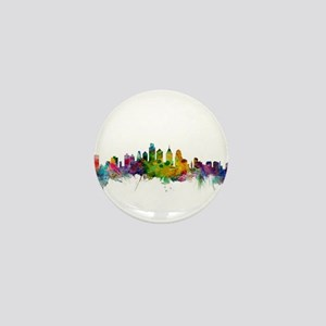 Philadelphia Pennsylvania Skyline Mini Button