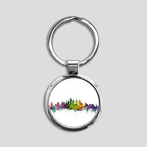 Philadelphia Pennsylvania Skyline Keychains