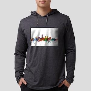 Cleveland Ohio Skyline Long Sleeve T-Shirt