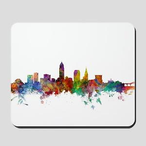 Cleveland Ohio Skyline Mousepad