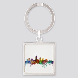 Cleveland Ohio Skyline Keychains