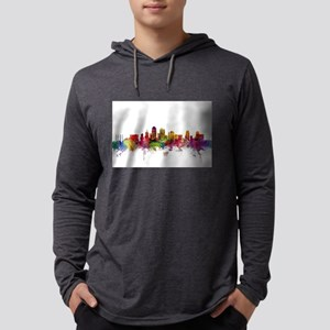 Kansas City Skyline Long Sleeve T-Shirt