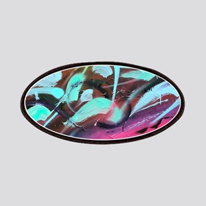 Hyper Abstract painting Patch