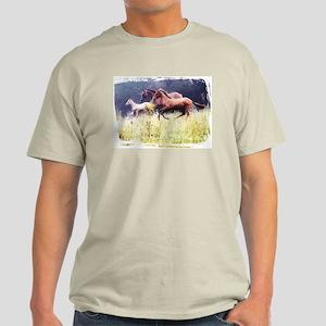 Galloping Horses Light T-Shirt