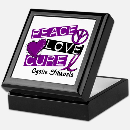 PEACE LOVE CURE Lupus (L1) Keepsake Box