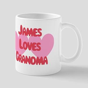 James Loves Grandma Mug
