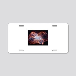 Galaxy Aluminum License Plate