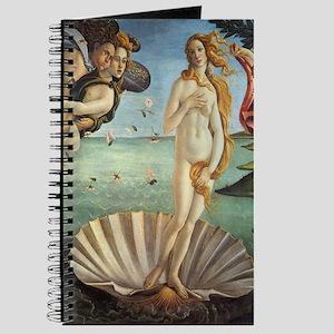 Birth of Venus by Botticelli Journal