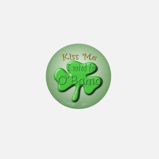 Irish O'Bama Mini Button