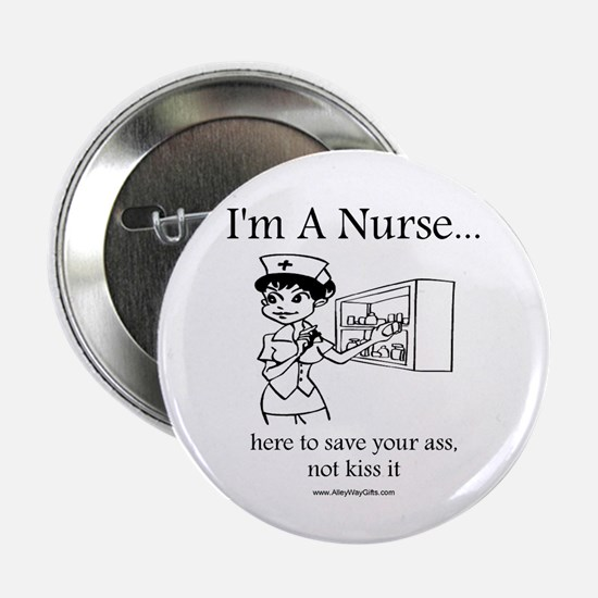 "I'm A Nurse 2.25"" Button"