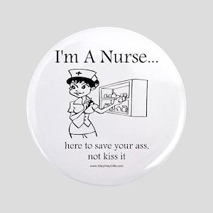 "I'm A Nurse 3.5"" Button"