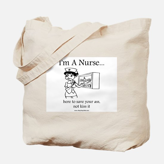 I'm A Nurse Tote Bag