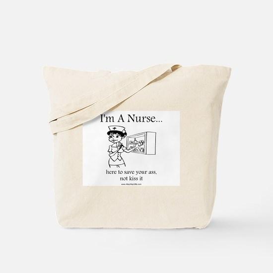 I'm A Nurse Tote Bag