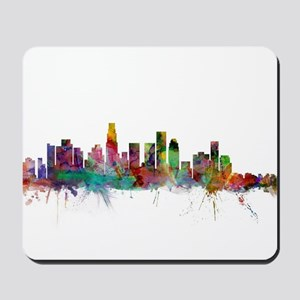 Los Angeles California Skyline Mousepad