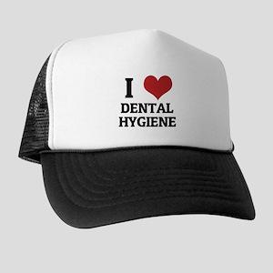 I Love Dental Hygiene Trucker Hat