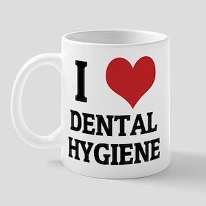 I Love Dental Hygiene Mug
