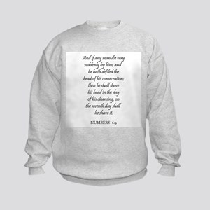 NUMBERS  6:9 Kids Sweatshirt