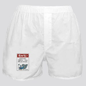 Be Careful With The Stairs, Japan Boxer Shorts