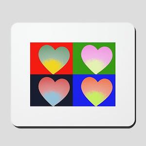 Hearts 4 Mousepad