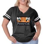 Bannerport Women's Plus Size Football T-Shirt