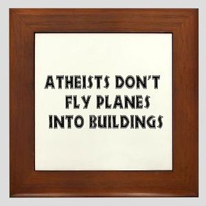 Atheist Truth Framed Tile