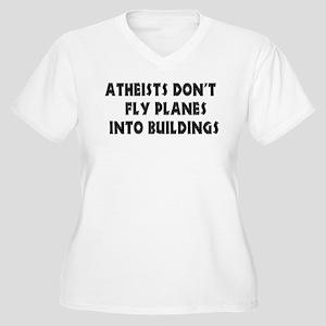 Atheist Truth Women's Plus Size V-Neck T-Shirt