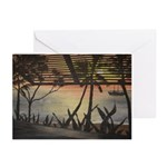 Fiji Sunset All-Occasion Greeting Cards - 10-Pack