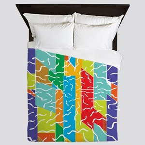 Abstract Art 22 Queen Duvet