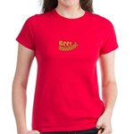 Beer Woooo! Women's Dark T-Shirt