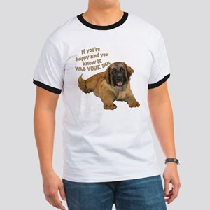 leonberger puppy wag Ringer T