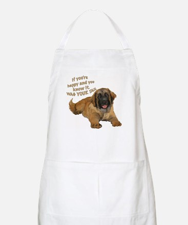 leonberger puppy wag BBQ Apron