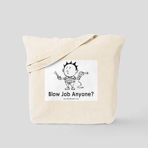 Hair Blow Tote Bag