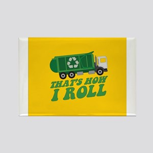 Recycling Truck s Magnets