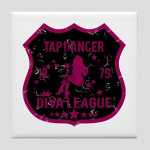 Tap Dancer Diva League Tile Coaster